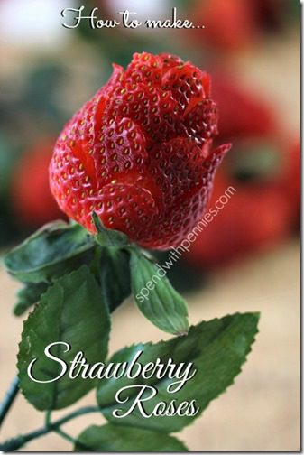 how to make strawberry roses thumb Friday Favorites–Valentine's Day