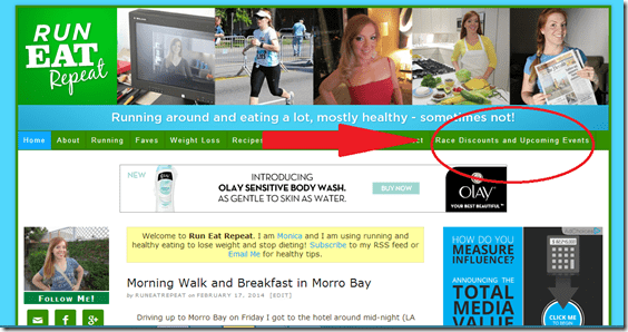 new race dicounts page coupons for marathons thumb Just the Tip Tuesday–Race Discounts Page