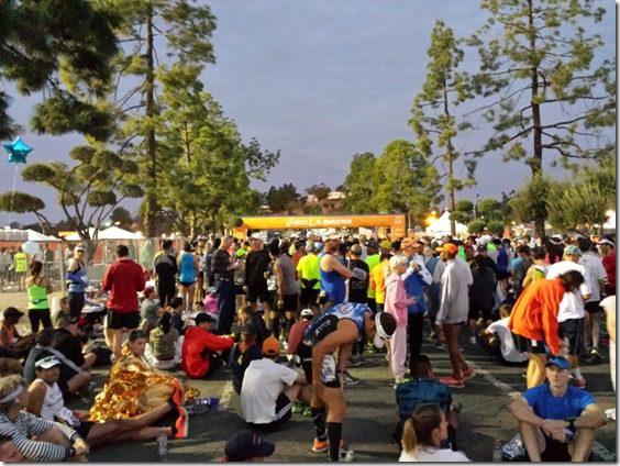 la marathon start line race 800x600 thumb LA Marathon and Carb Loading Mexican Style