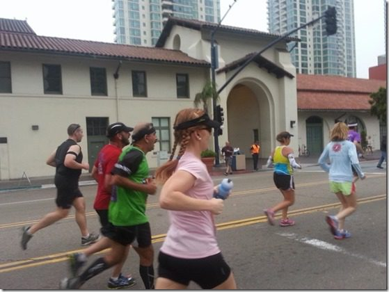 monica running rock n roll san diego marathon thumb 10 Things You Must Eat Before The Marathon Or the Sky Will Fall! That, or my own Pre Race Diet…