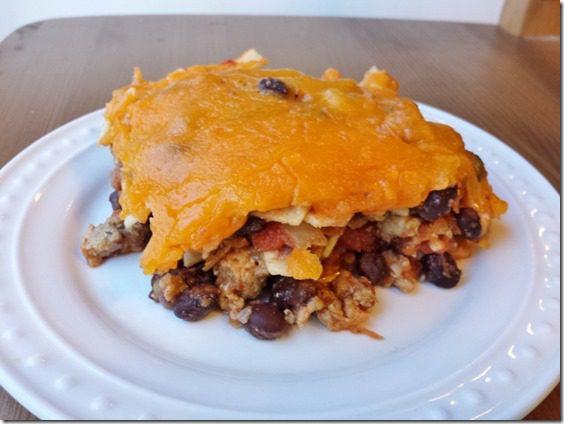taco casserole recipe healthy gluten free easy meal 800x600 thumb Taco Casserole For Those Leftover Corn Tortillas