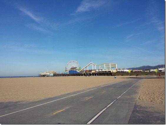 running in los angeles santa monica pier 800x600 thumb Running In Santa Monica California