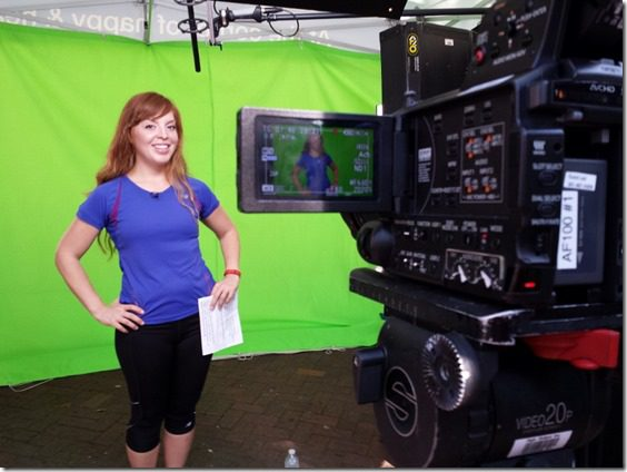 filmed a video for walgreens 800x600 thumb Saturday at Fitbloggin in Seven Points…
