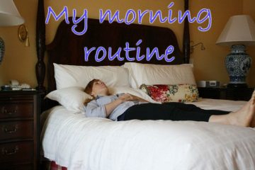 My Morning Routine–before a run VLOG