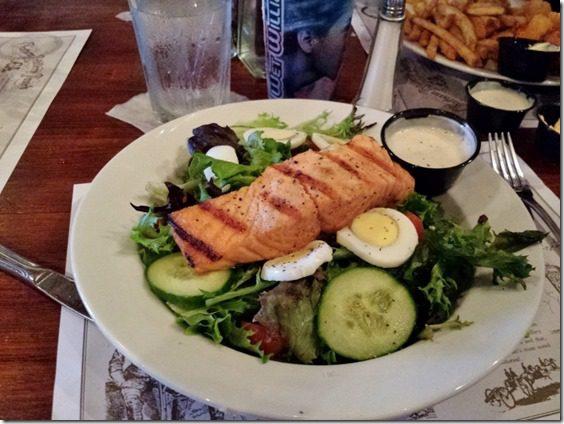 salmon shrimp factory travel blog 800x600 thumb Saturday at Fitbloggin in Seven Points…