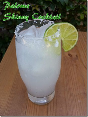 skinny paloma cocktail margarita with soda  thumb Skinny Cocktail Ideas for the 4th of July
