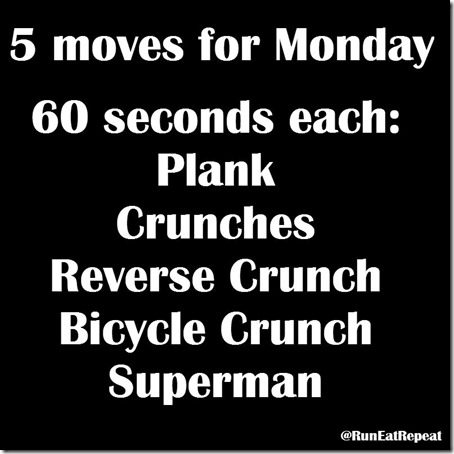 5 moves at 5 800x800 thumb 5 Minutes of Exercise