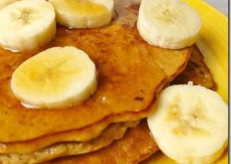 Three Ingredient Pancakes Recipe