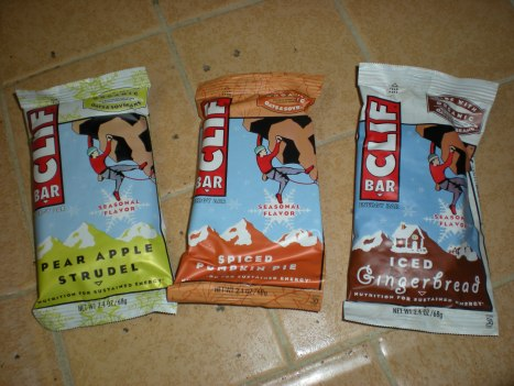 foodies 669 Seasonal Clif Bars