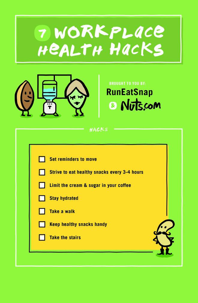 Tips to Keep You Healthy at Work - RunEatSnap