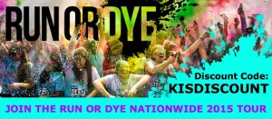 £3 off your Run or DYE entry with the discount code KISDISCOUNT