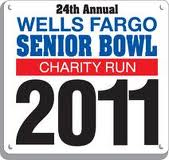 Wells Fargo Senior Bowl Charity Run 10K Results