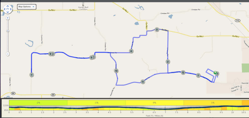 Course map available for Lodi Mother's Day Run (2/2)