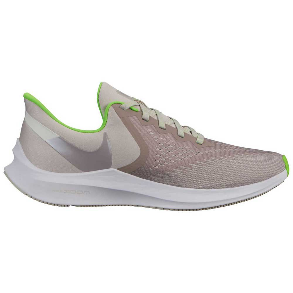 Nike Zoom Grey And Green Nike Zoom Winflo 6
