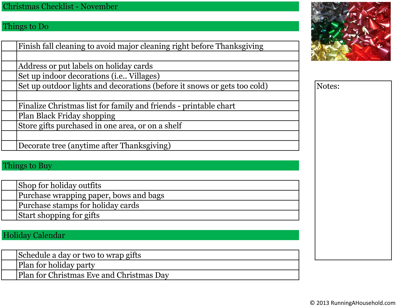 to do list printable checklist