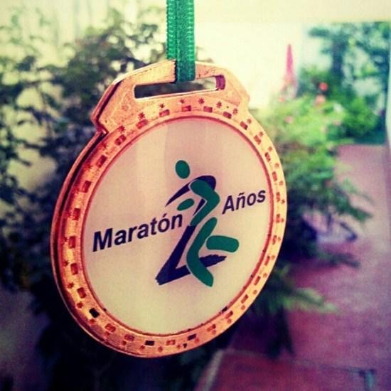 Medalla finisher