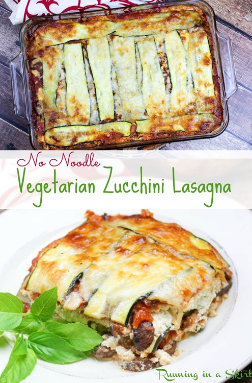 My No Noodle Vegetarian Zucchini Lasagna is a labor of love… but boy ...