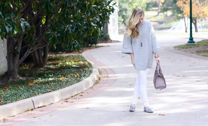 Chunky Sweater and Tassels