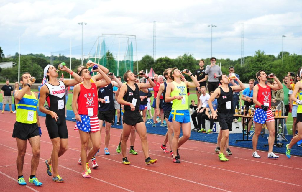 The 2018 Beer Mile World Classic An Underground Track