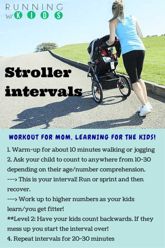 Running Jogging Intervals Stroller Workouts Resources For Active Parents