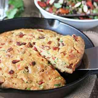 Easy Tomato Bacon Skillet Bread Archives - Runnin Srilankan