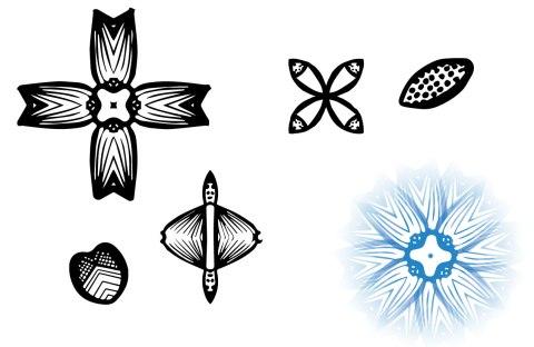 motifs from doodles