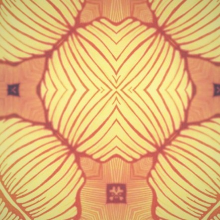 Repeat Pattern made from one element of the previous Mouth Head Pattern