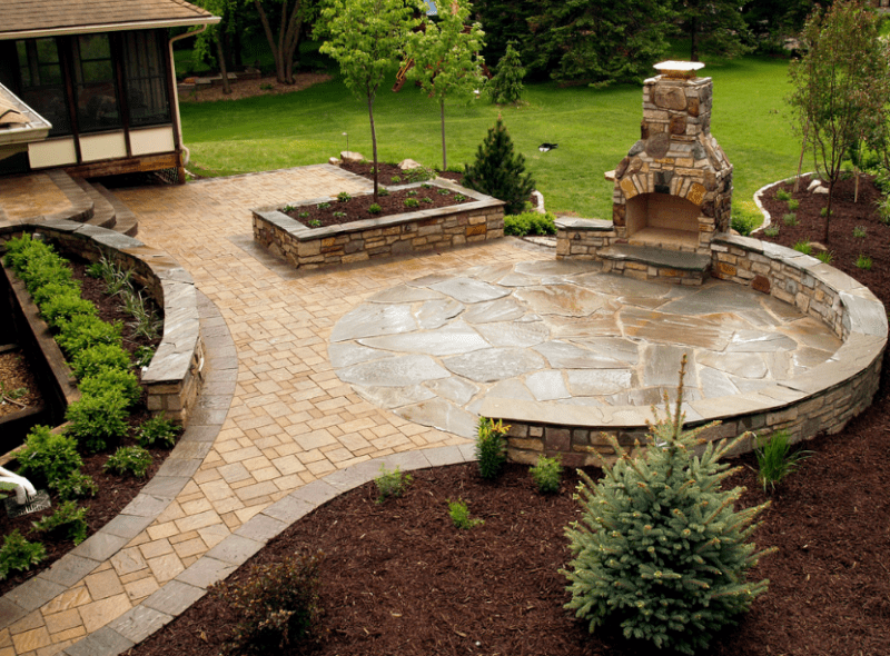 20 Best Stone Patio Ideas For Your Backyard Home And