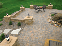 20+ Best Stone Patio Ideas for Your Backyard - Home and ...