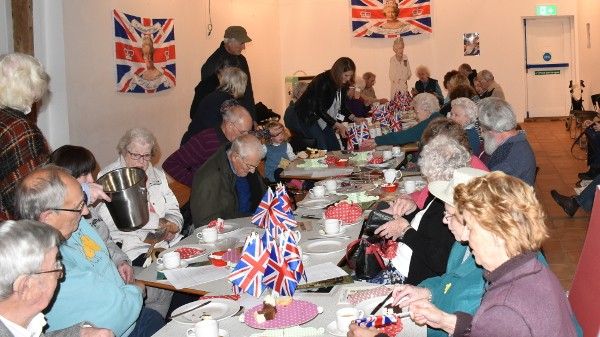 Our Wingfield Barns Queen's 90th birthday celebratory cream tea.