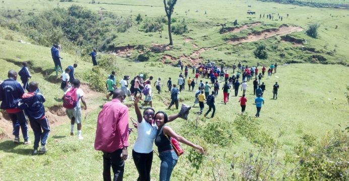 young environmentalists in Mau