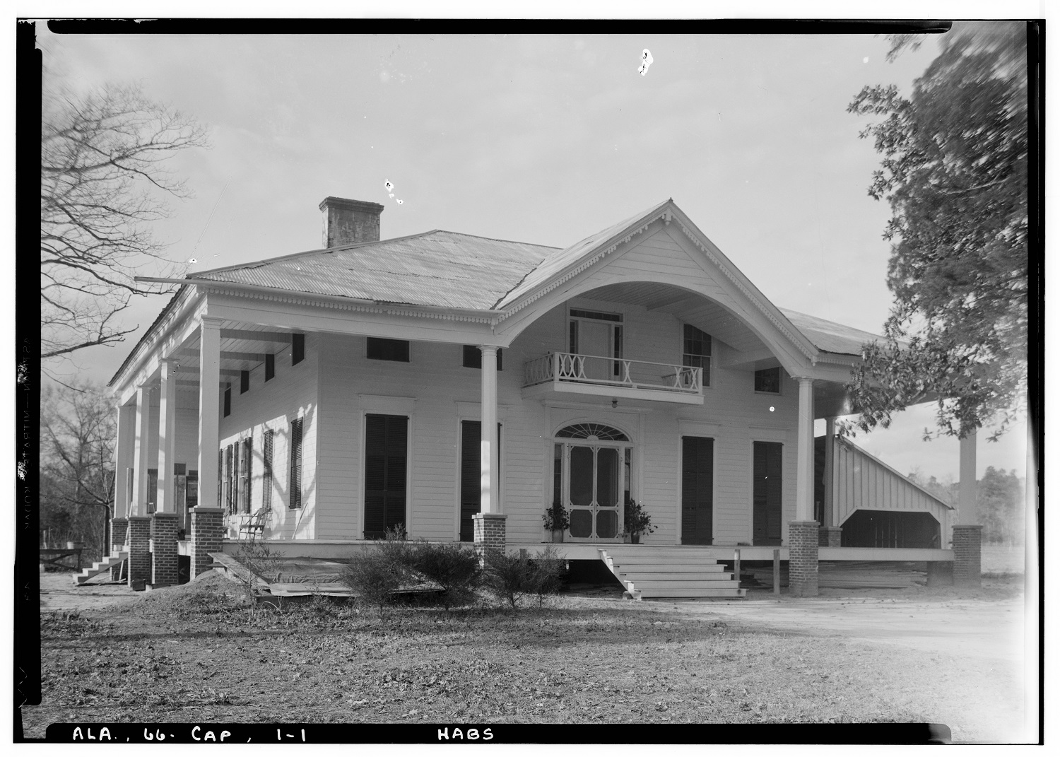 Huff House Capell Huff House At Pebble Hill Al Built Ca 1850 Recorded In