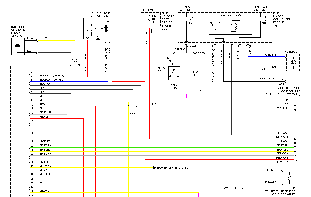 2008 Mini Cooper S Wiring Diagram Detailed 2002 Kia Spectra 4 Door Fuse Box 04 Diagrams Stereo Upgrade 2003 Headlight