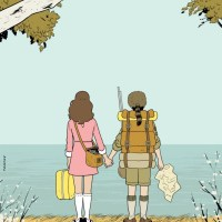 "Wonderful Hi-Res ""Moonrise Kingdom"" Ilustration From the New Yorker"