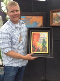 Russell Johnson Phippen Show Quick Draw Artist