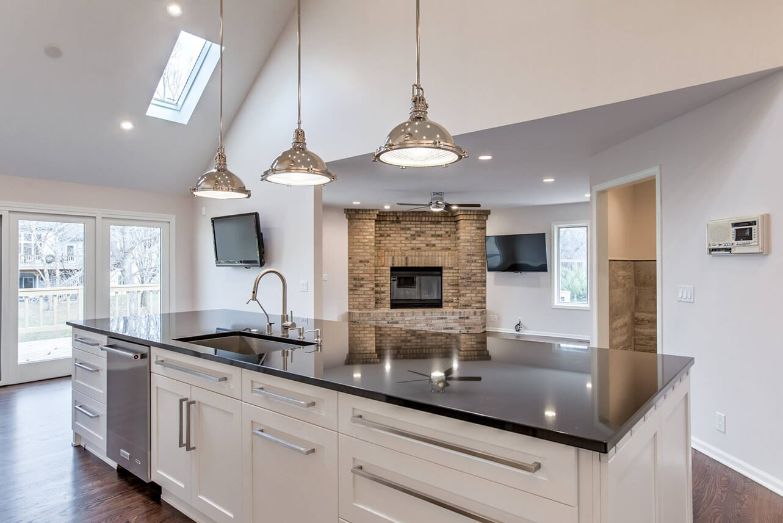 old dominion remodel kitchen remodeling lincoln ne Lincoln NE custom renovations open floor plan