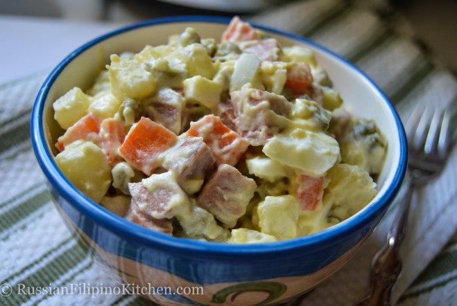 Olivye (Russian-Style Potato Salad)