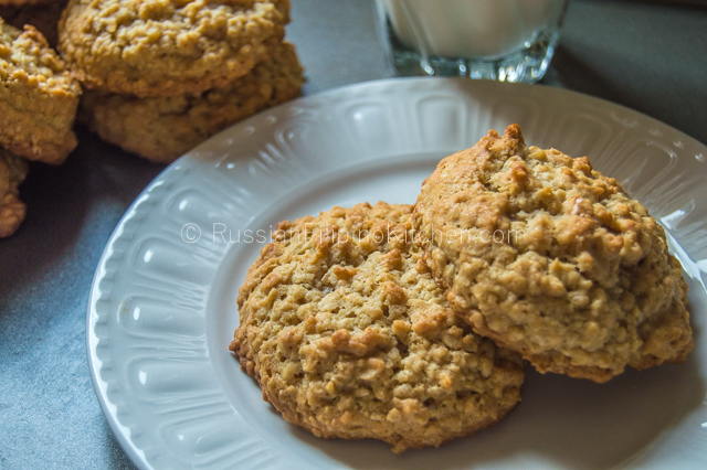 Perfectly Soft Oatmeal Cookies 01