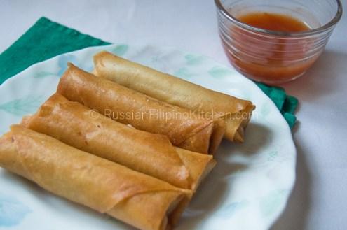 Easy Lumpia Shanghai (Filipino Meat-Filled Egg Rolls) 26