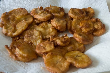 Maruya (Fried Banana Fritters) 12