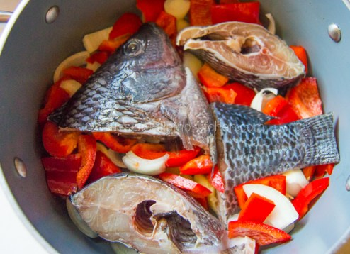 Paksiw na Tilapia (Fish Simmered in Vinegar and Spices) 04