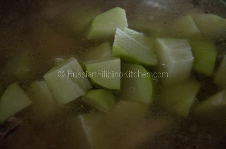 Tinolang Manok (Filipino-style Chicken Soup) 12