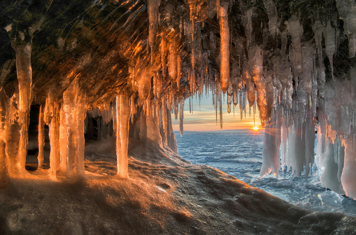 Beautiful Water Fall Scenery Wallpapers Winter Baikal The Realm Of Great Ice And Mighty Winds