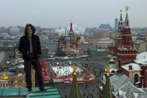 Au dessus de la Place Rouge