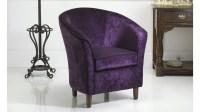 Purple Tub Chair | Russkell Furniture