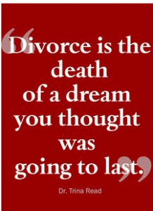 Divorce the death of a Dream
