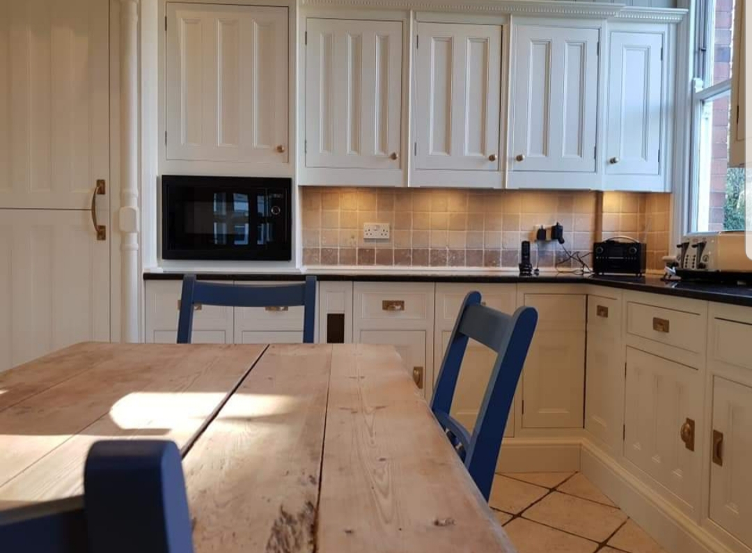 Kitchen Cupboard Painters Leicestershire Painted Kitchen Nottingham Russ Pike Interiors