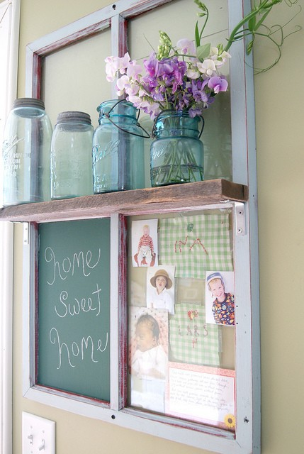 Shabby Chic Decor: Decorating With Old Windows | Rustic Crafts