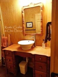 Cabin Bathroom Decor - Rustic Crafts & Chic Decor