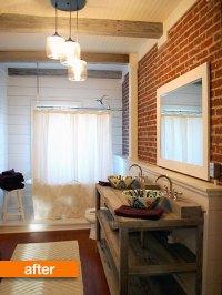 Rustic Chic Bathrooms - Rustic Crafts & Chic Decor